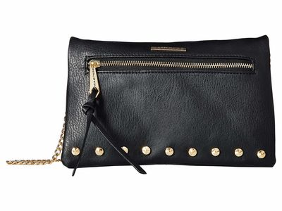 Rampage - Rampage Black Studded Cross Body Bag