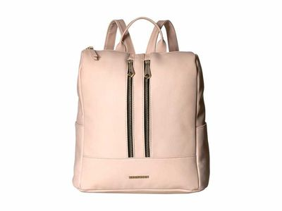 Rampage - Rampage Blush Double Zipper Backpack
