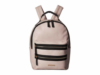 Rampage - Rampage Gravendar Double Front Zip Detailed Midi Backpack