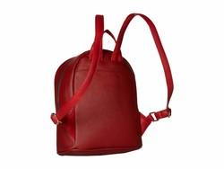 Rampage Red Chevron Quilted Midi Backpack - Thumbnail