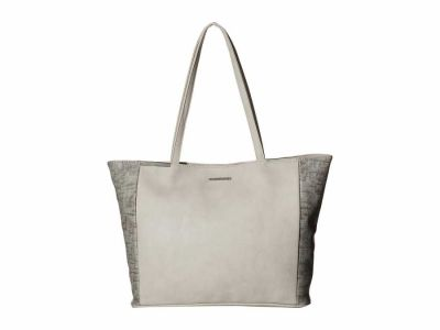 Rampage - Rampage Stucco Mixed Media Tote Handbag