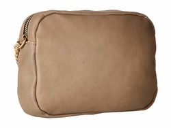 Rampage Taupe Whipstitch Cross Body Bag - Thumbnail