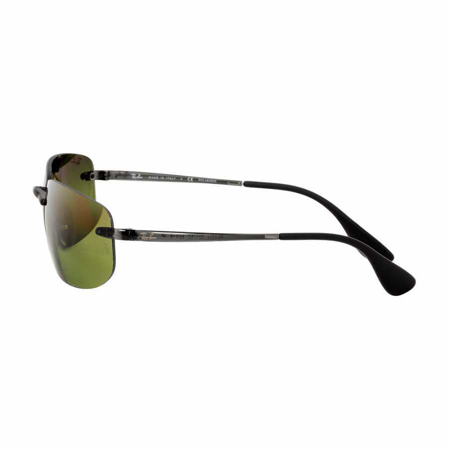 Ray Ban Chromance Injected Frame Green Lens Sunglasses RB4254