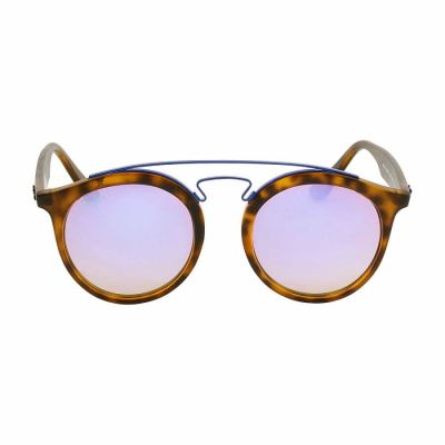 Ray Ban - Ray Ban Gatsby I Tortoise Propionate Frame Lilac Lens Sunglasses RB4256