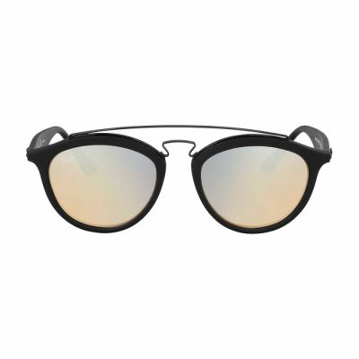 Ray Ban - Ray Ban Gatsby II Black Propionate Frame Silver Lens Sunglasses RB4257
