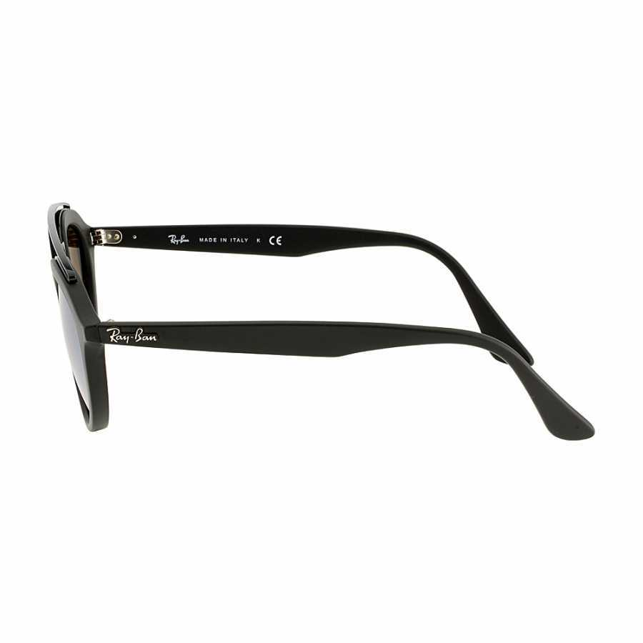 Ray Ban Gatsby II Propionate Frame Silver Lens Sunglasses RB4257