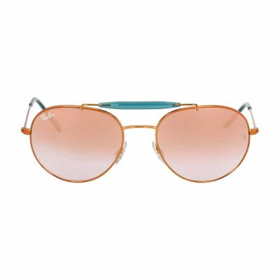 Ray Ban - Ray Ban Metal Frame Copper Lens Sunglasses RB3540