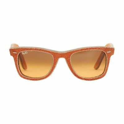 Ray Ban - Ray Ban Wayfarer Acetate Orange Denim Frame Sunglasses RB2140
