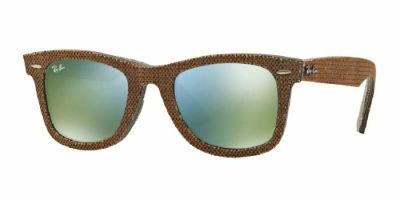 Ray Ban - Ray Ban Wayfarer Premium Brown Denim Frame Sunglasses RB2140