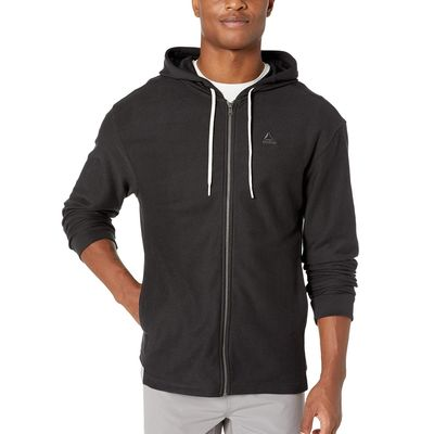 Reebok - Reebok Black Training Essentials Twill Full Zip Hoodie