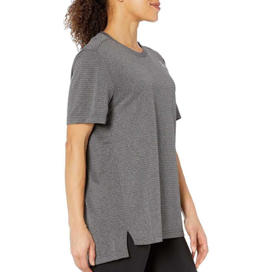 Reebok Black Work Out Ready Melange Tech Top