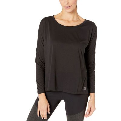 Reebok - Reebok Black Workout Ready Supremium Long Sleeve