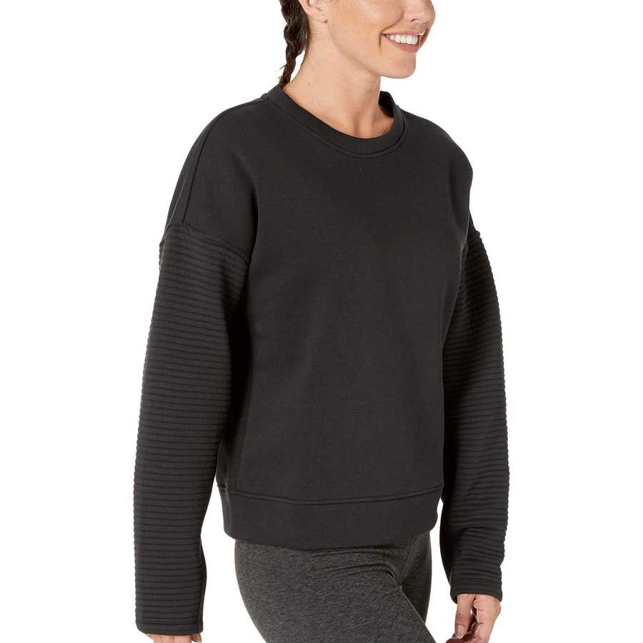 Reebok Black Workout Ready Versatile Crew