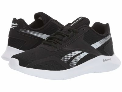 Reebok - Reebok Men Black/Black/White Energylux 2.0 Athletic Shoes