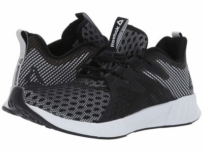 Reebok - Reebok Men Black/White Fusium Run 2.0 Running Shoes