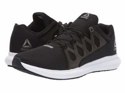 Reebok - Reebok Men Black/White/Pewter Driftium Ride 2.0 Running Shoes
