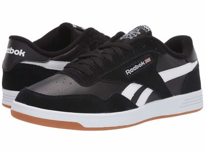 Reebok - Reebok Men Black/White/Reebok Rubber Gum-03 Club Memt Lifestyle Sneakers