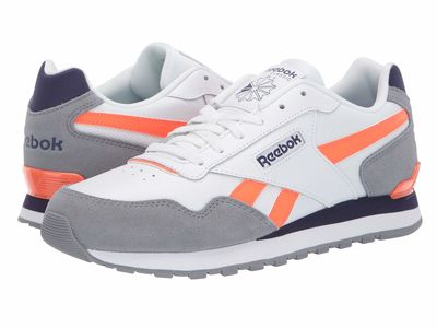 Reebok - Reebok Men Us-Grey/White/Midnight/Orange Cl Harman Run Ltcl Lifestyle Sneakers