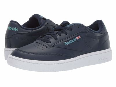 Reebok - Reebok Men Vintage Collegiate Navy//White/Mineral Mist Club C 85 Mu Lifestyle Sneakers
