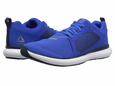 Reebok - Reebok Men Vital Blue/Collegiate Navy/Pewter/White Driftium Ride Athletic Shoes