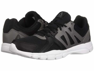 Reebok - Reebok Men's Black Shark White Trainfusion Nine 3.0 Athletic Shoes