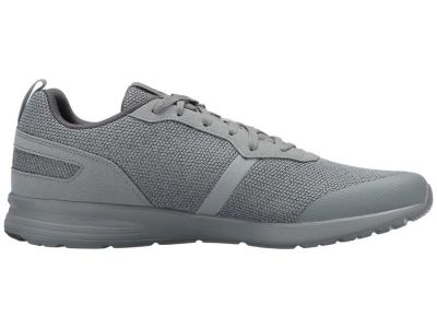 Reebok - Reebok Men's Flint Grey/Ash Grey/White/Baseball Grey Foster Flyer Sneakers Athletic Shoes 8894078721434