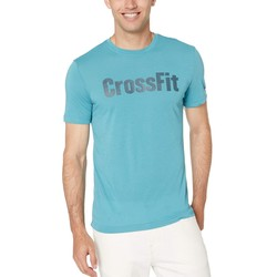 Reebok Teal Training Elements Speedwick Tee - Thumbnail