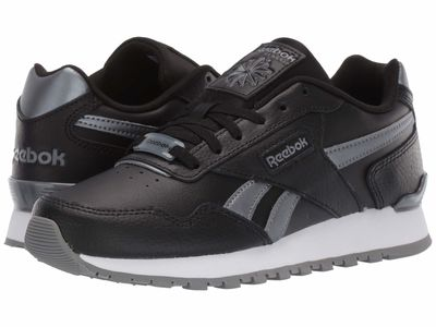Reebok - Reebok Women Us-Black/Cold Grey 5/White Classic Harman Run Clip Lifestyle Sneakers