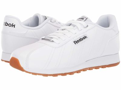 Reebok - Reebok Women White/Black/Reebok Rubber Gum 06 Cl Xyro 2 Lifestyle Sneakers