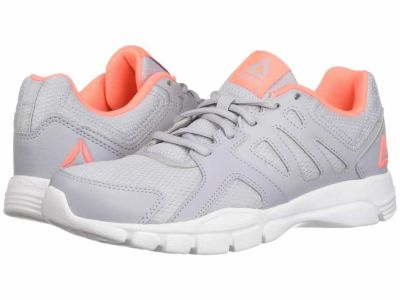 Reebok - Reebok Women's Cloud Grey White Digital Pink Trainfusion Nine 3.0 Athletic Shoes