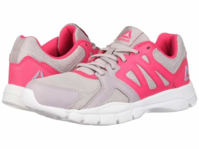 Reebok - Reebok Women's Lavendar Luck Twisted Pink White Trainfusion Nine 3.0 Athletic Shoes