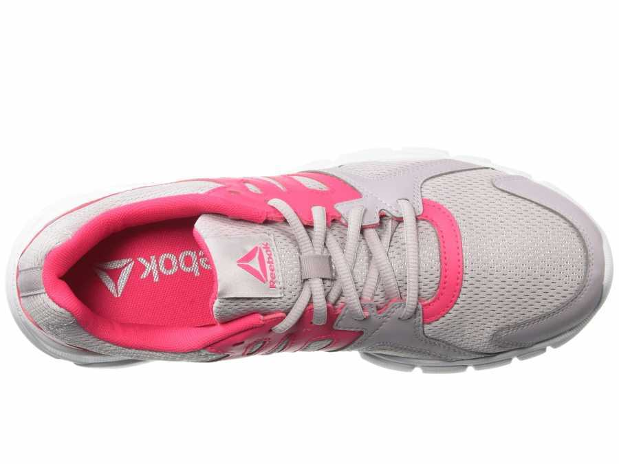 Reebok Women's Lavendar Luck Twisted Pink White Trainfusion Nine 3.0 Athletic Shoes