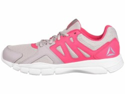 Reebok Women's Lavendar Luck Twisted Pink White Trainfusion Nine 3.0 Athletic Shoes - Thumbnail