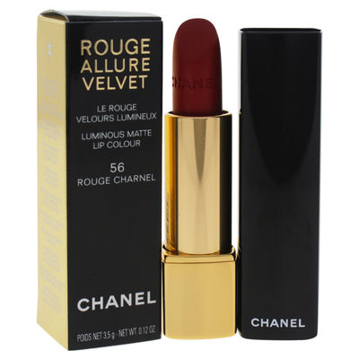 Chanel - Rouge Allure Velvet Luminous Matte Lip Colour - 56 Rouge Charnel 0,12oz