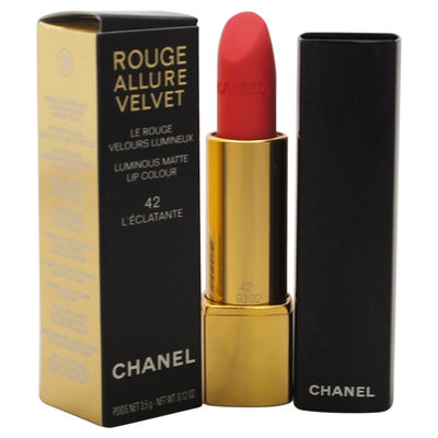 Chanel - Rouge Allure Velvet Luminous Matte Lip Colour - # 42 LEclatante 0,12oz