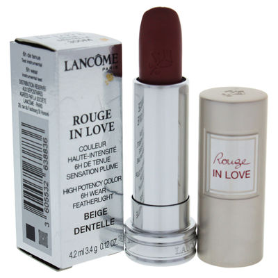 Lancome - Rouge In Love High Potency Color Lipstick - # 300M Beige Dentelle 0,12oz