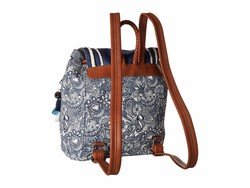 Sakroots Navy Spirit Desert Artist Circle Mellie Backpack - Thumbnail