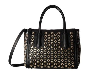 Sam Edelman - Sam Edelman Black Ashton Top-Handle Satchel Handbag