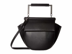 Sam Edelman Black Mia Half Moon Cross Body Bag - Thumbnail