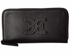 Sam Edelman Black Sophia Checkbook Wallet - Thumbnail