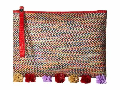 Sam Edelman - Sam Edelman Multi Rosalind Straw Clutch Bag