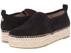 Sam Edelman Women Black Suede Leather Carrin Loafers - Thumbnail