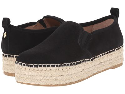 Sam Edelman - Sam Edelman Women Black Suede Leather Carrin Loafers
