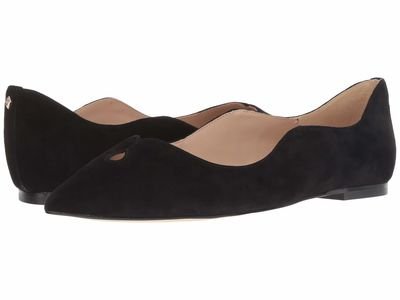 Sam Edelman - Sam Edelman Women Black Suede Leather Rosalie Flats