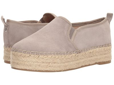 Sam Edelman - Sam Edelman Women Putty Kid Suede Leather Carrin Loafers
