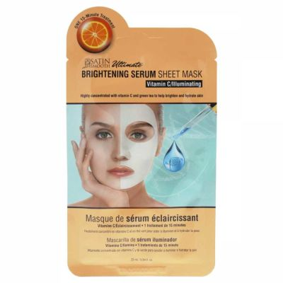 Satin Smooth - Satin Smooth Brightening Serum Sheet Mask 0.84 oz