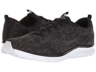 Saucony - Saucony Men Black 2 Liteform Feel Running Shoes