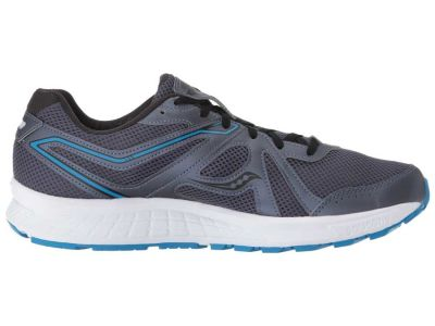 Saucony - Saucony Men's Grey/Blue Cohesion 11 Sneakers Athletic Shoes 8979081409