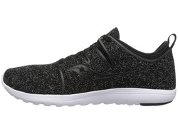 Saucony Women Black (Speckled) Eros Lace Running Shoes - Thumbnail
