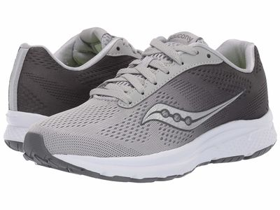 Saucony - Saucony Women Charcoal/Light Grey Nova Running Shoes
